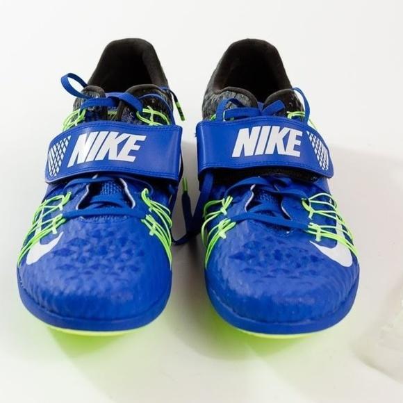 696244e394f8 Men s Nike Zoom TJ Elite Triple Jump Blue Spikes